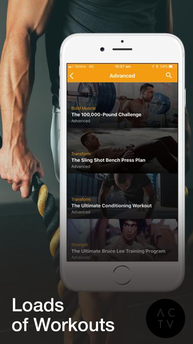 Screenshot for ACTV 6 Week Challenge in United States App Store