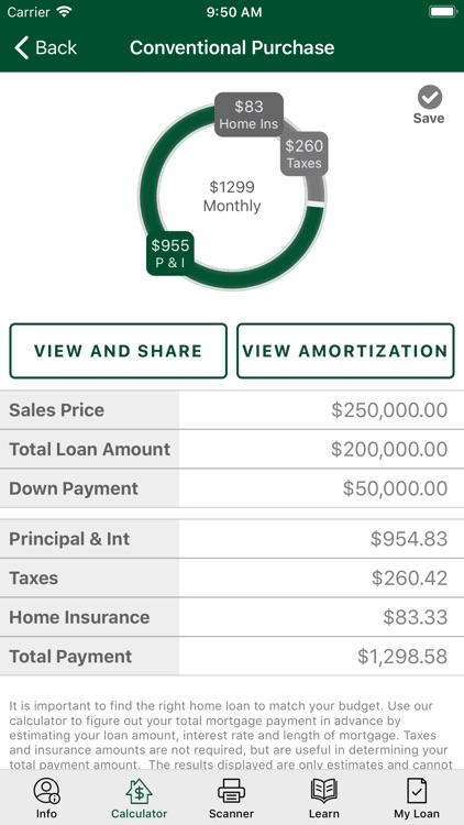 Fitzgerald Mortgage Calculator screenshot-3