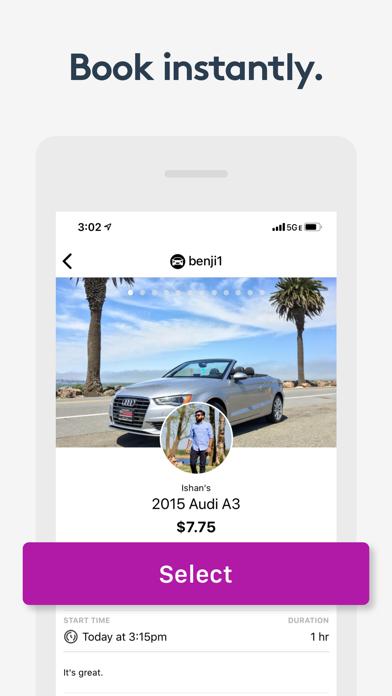 Getaround - Instant Car Rental screenshot four