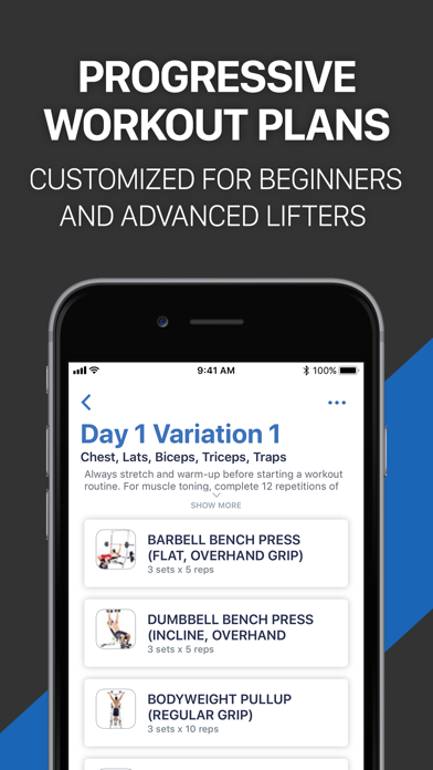Fitness Buddy: Gym Workout Log app image