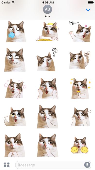 CatMoji Animated Humorous Cat screenshot 3