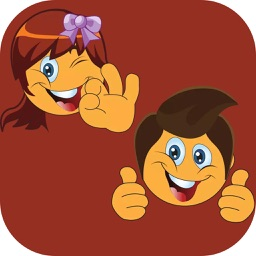 Boy and Girl Stickers Pack