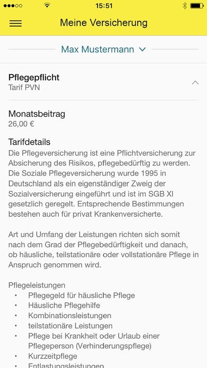 ARAG GesundheitsApp screenshot-4