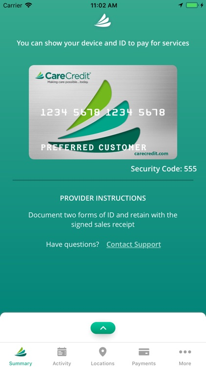 CareCredit Mobile App
