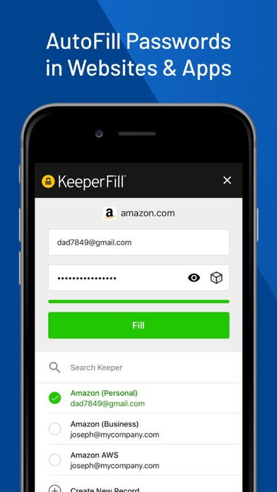 Negative Reviews: Keeper Password Manager - by Callpod Inc  - #3 App