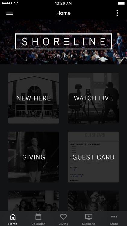 Shoreline Church App