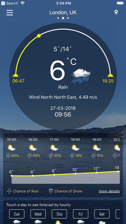 Weather : Weather forecast screenshot-0