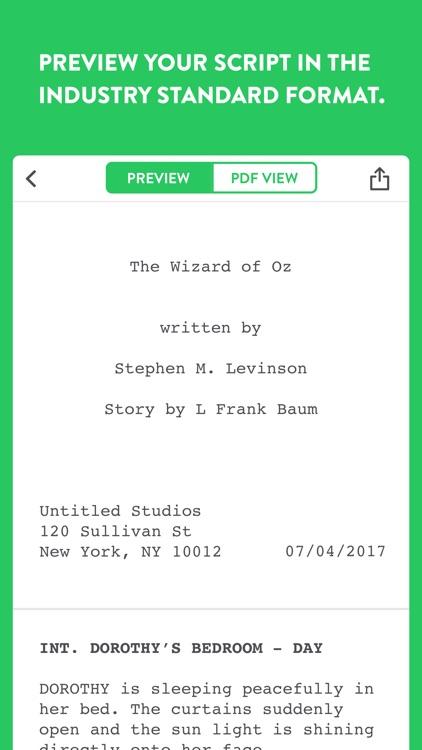 Untitled - Screenwriting Notes screenshot-3