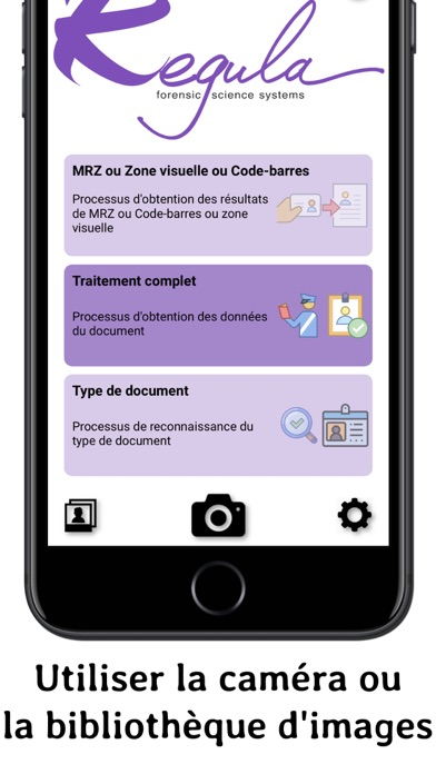 Screenshot for Regula Document Reader in France App Store