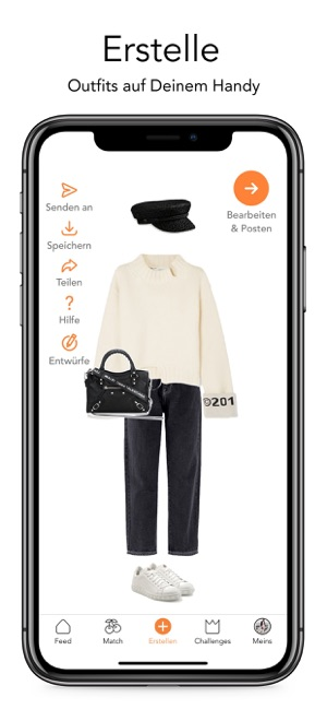on sale 6b2dd 23a23 combyne -dein perfektes Outfit im App Store