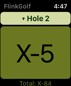 ‎FlinkGolf - Scorecard Screenshot