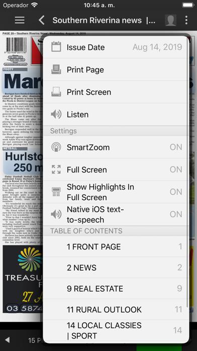 Southern Riverina NewsScreenshot of 5