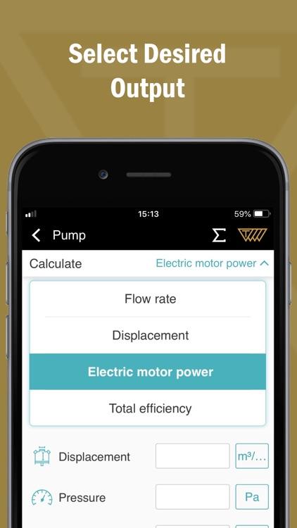Hydraulic System Calculator screenshot-3