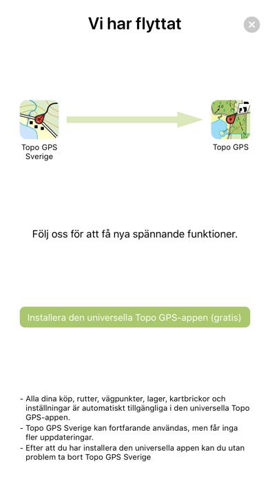 Screenshot for Topo GPS Sverige in Sweden App Store