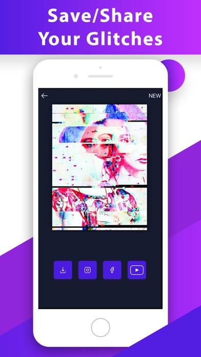 Glitch Video Photo 3D Effect.s Screenshot