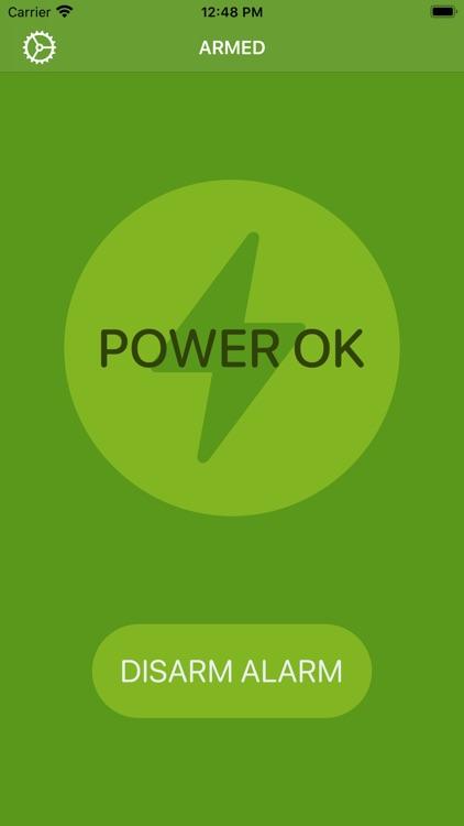 PowerAid - Power failure alarm