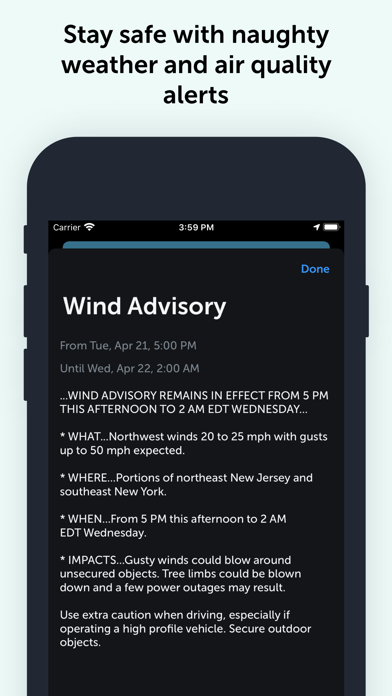 Weather Fit - Forecast Screenshot
