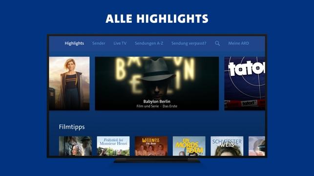 ARD Mediathek on the App Store
