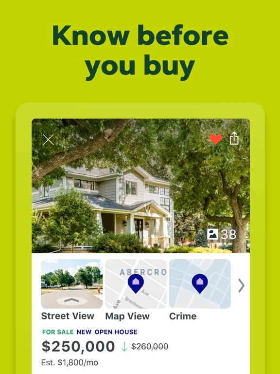 Real Estate - Homes for Sale, Apartments for Rent screenshot