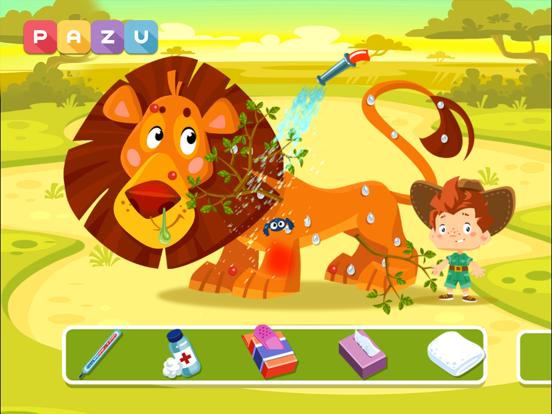 животные доктор сафари игры для iPad