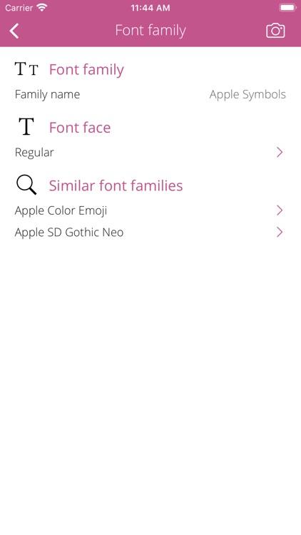 Font Info screenshot-5