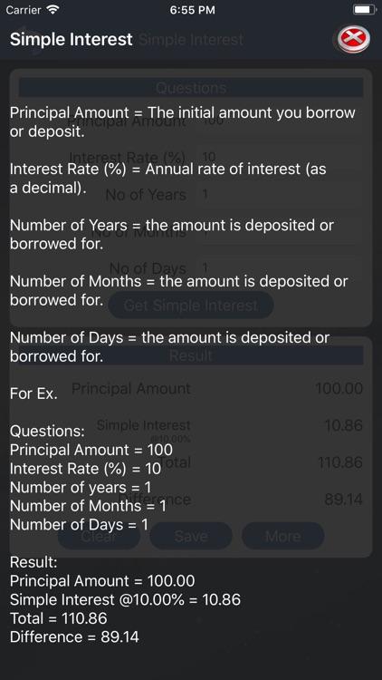 Interest Calculator :) screenshot-3