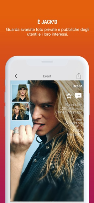 App di dating mobile basata sulla posizione