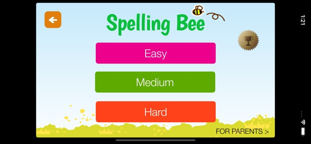 A+ Spelling Bee English Words