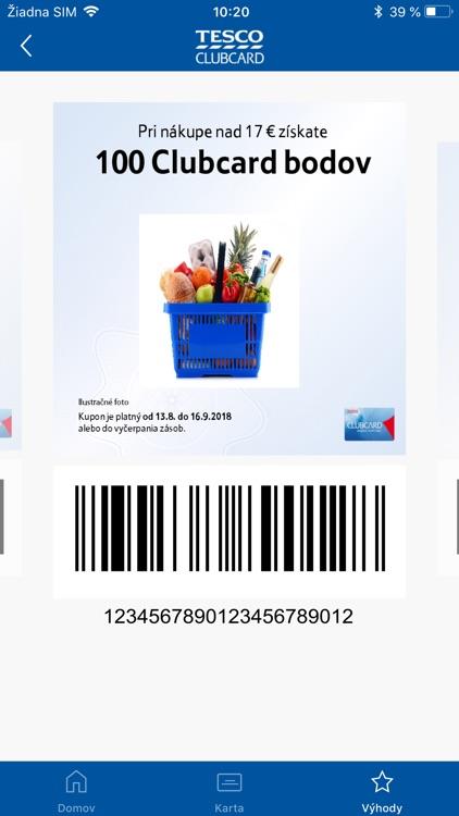 Tesco Clubcard Slovakia screenshot-4