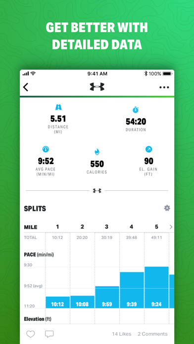 Map My Hike by Under Armour Screenshot