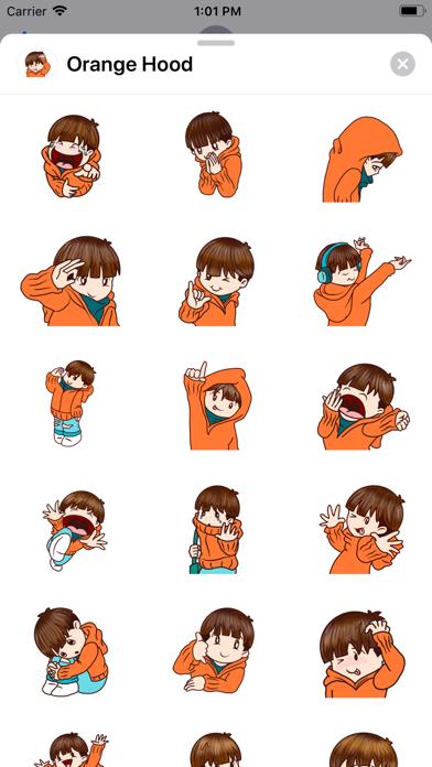 Orange - Hood screenshot 2