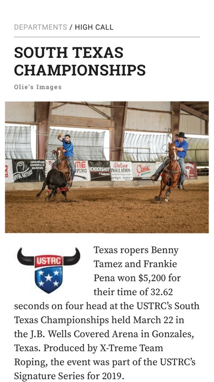 The Team Roping Journal screenshot-4