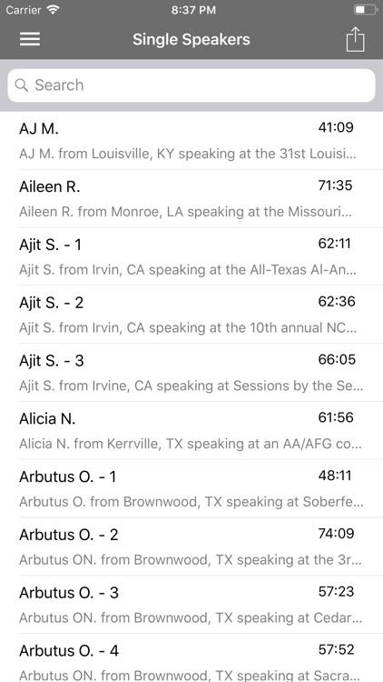 Al-Anon Speakers