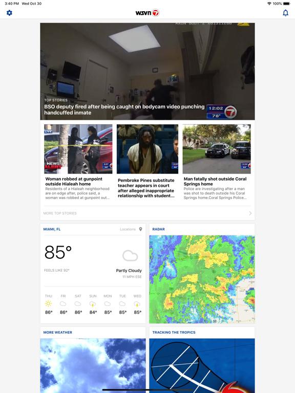 WSVN - 7 News Miami screenshot