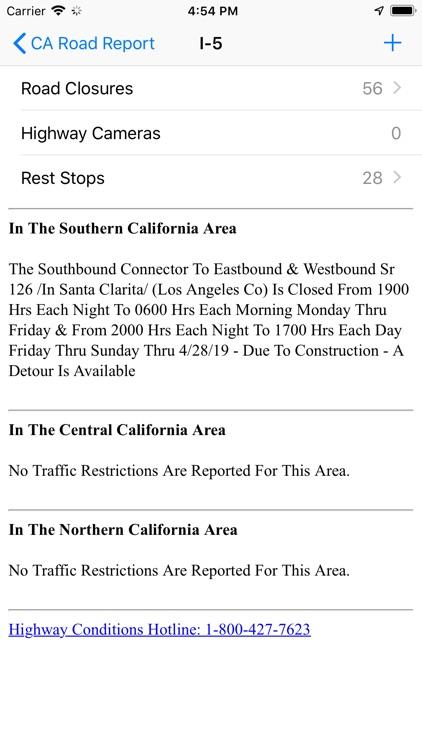 California Road Report screenshot-7
