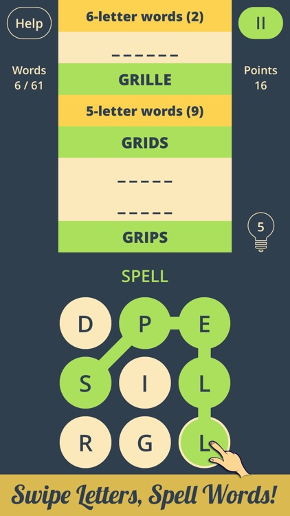 Spell Grid 2: Brain Teasers screenshot-0