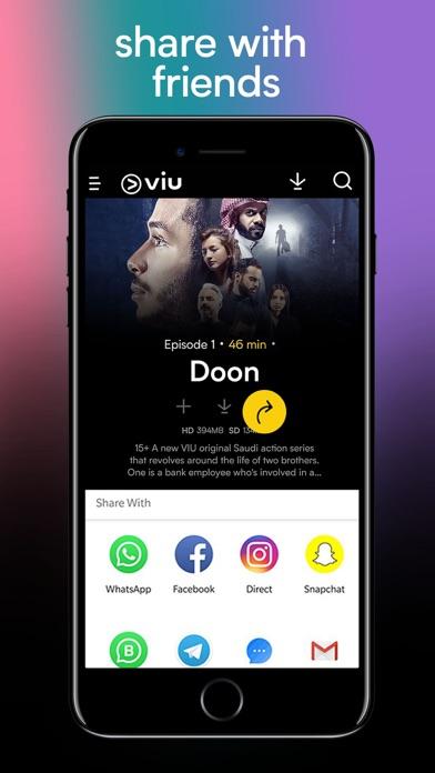 Screenshot for Viu -Stream TV Shows & Serials in India App Store