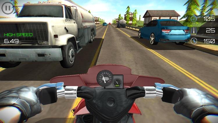 Highway Moto Traffic Rider screenshot-4
