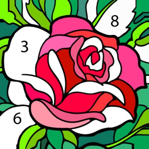 Happy Color™ – 数字で塗り絵。数字で色ぬりえ