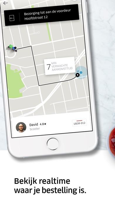 Screenshot for Uber Eats maaltijdbezorging in Netherlands App Store