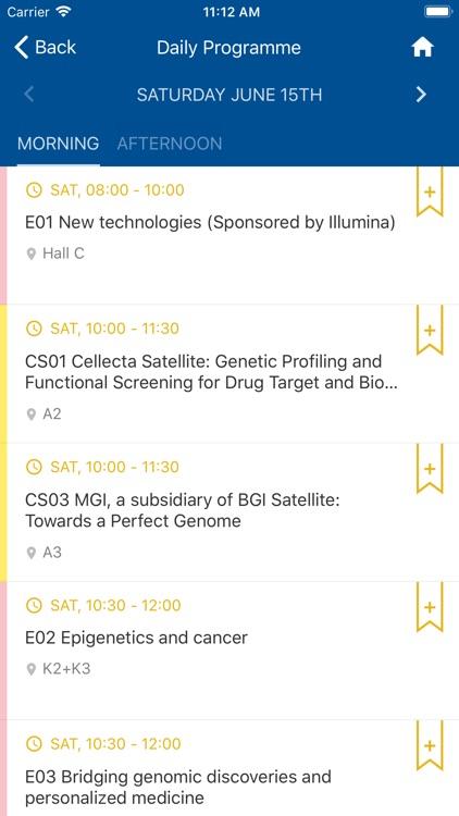 European Soc. of Human Genetic screenshot-4