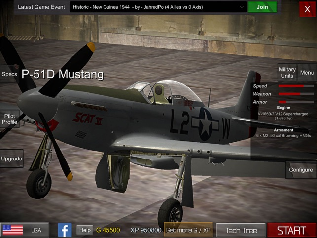 ‎Gunship Sequel: WW2 Screenshot