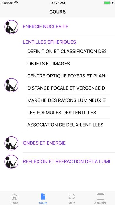 Physique Première ES screenshot 4