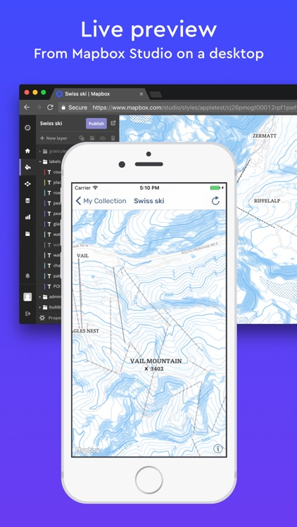 Mapbox Studio Preview