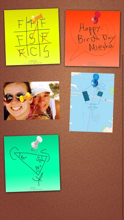 Sticky Notes Pin Pad - Post it screenshot-3