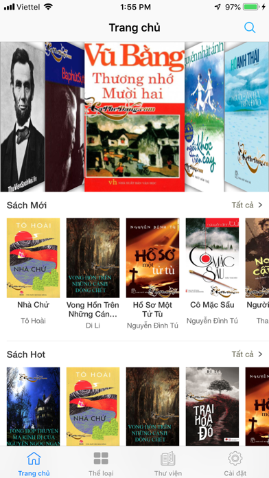 Sách nói - Audio books online screenshot one