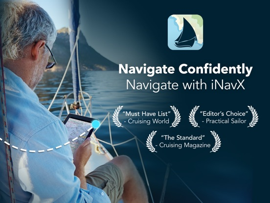 iNavX: Marine Chartplotter Screenshots