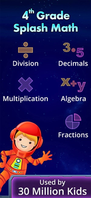 4th Grade Math Games for Kids on the App Store