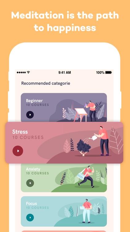 Meditation App screenshot-5