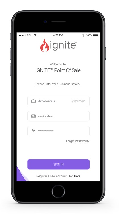 Ignite Point of Sale (POS)